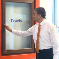 Dorado Gold - Çift Açılım Pencere Ahşap