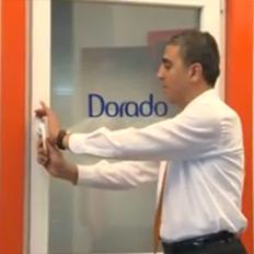 Dorado Gold - Çift Açılım Pencere (Güvenlikli)